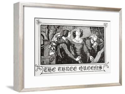 The Three Queens', 1905-Dora Curtis-Framed Giclee Print