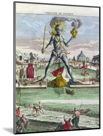 The Colossus of Rhodes, 18th century-Georg Balthasar Probst-Mounted Giclee Print