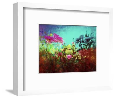ON AN INTUITIVE LEVEL-Sylver Bernat-Framed Giclee Print