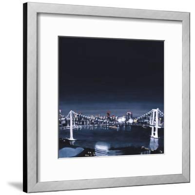 Night view,2013-Tomoko FURUYA-Framed Giclee Print
