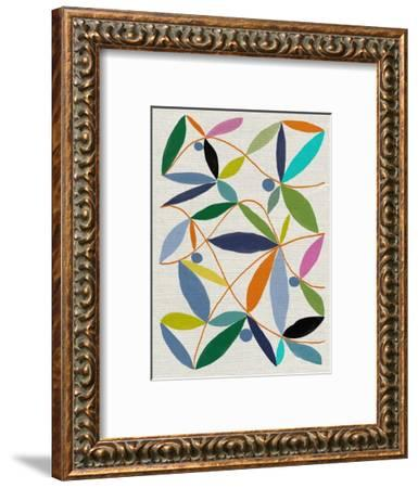 Printed Leaves-Jenny Frean-Framed Giclee Print