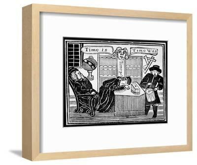 'Time is, Time was'-Unknown-Framed Giclee Print