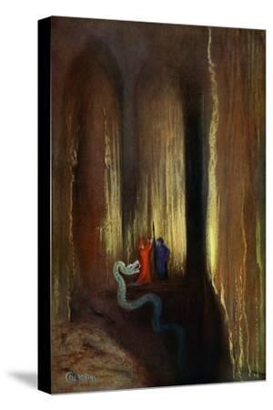 'Dark Cavern', 1906-Unknown-Stretched Canvas Print