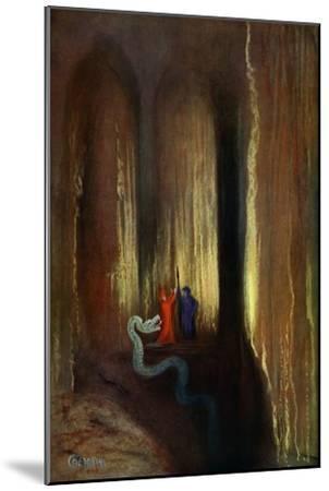 'Dark Cavern', 1906-Unknown-Mounted Giclee Print