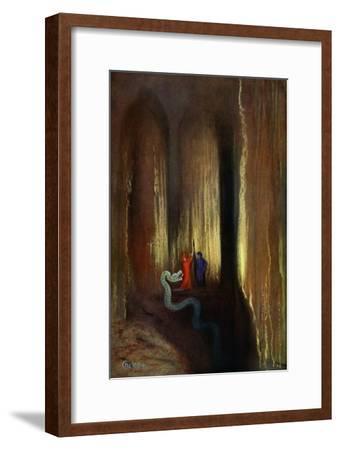 'Dark Cavern', 1906-Unknown-Framed Giclee Print