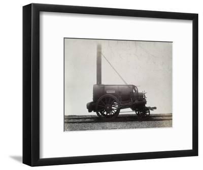 George Stephenson's 'Rocket', c1905-Unknown-Framed Photographic Print