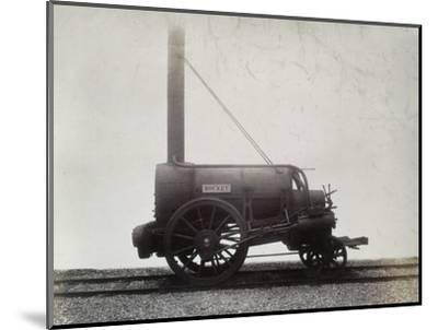 George Stephenson's 'Rocket', c1905-Unknown-Mounted Photographic Print