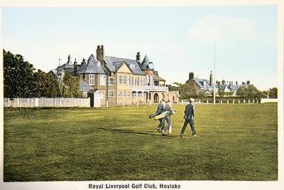 Royal Liverpool golf club, Hoylake, c1910-Unknown-Framed Giclee Print