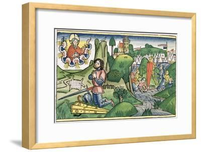 Judges 6:36: Gideon puts out the fleece-Unknown-Framed Giclee Print