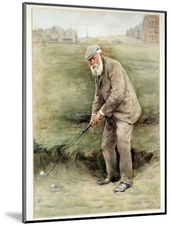 Tom Morris senior, British golfer, portrait, c1910-Unknown-Mounted Giclee Print