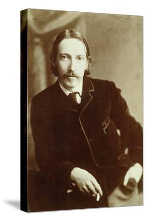 Robert Louis Stevenson, Scottish author, c1870-1894-Unknown-Stretched Canvas Print