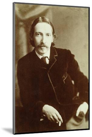 Robert Louis Stevenson, Scottish author, c1870-1894-Unknown-Mounted Photographic Print