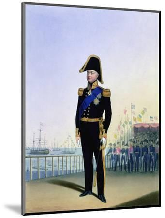 William IV, King of the United Kingdom, c1830-1837-L Mansion-Mounted Giclee Print