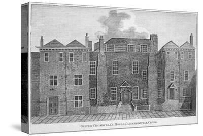 'Oliver Cromwell's House, Clerkenwell Close', London, 19th century-Unknown-Stretched Canvas Print