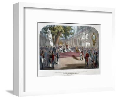 The opening by Queen Victoria of the Industrial Palace in Hyde Park, May 1st 1851-Unknown-Framed Giclee Print