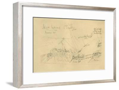 'Mount Buckley', 11 February 1912, (1913)-Unknown-Framed Giclee Print