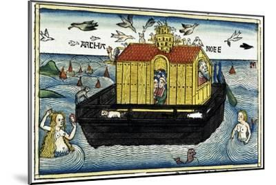 Noah's Ark-Unknown-Mounted Giclee Print