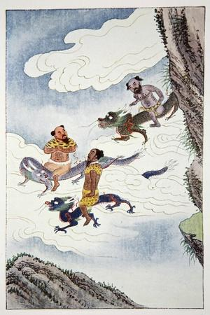 Dragon Gods, 1922-Unknown-Framed Giclee Print