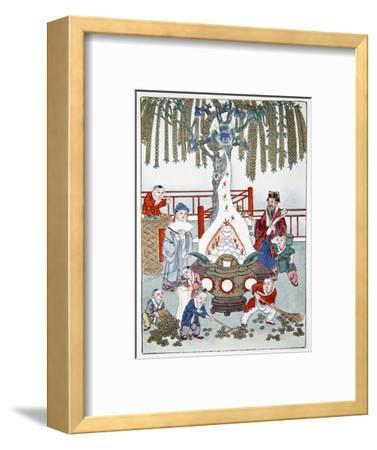 The Money Tree, 1922-Unknown-Framed Giclee Print