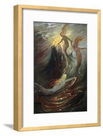 'The Rhine Gold', 1906-Unknown-Framed Giclee Print
