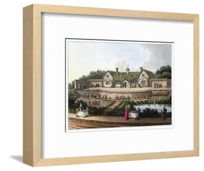 'The Work House', 1816-Humphry Repton-Framed Giclee Print