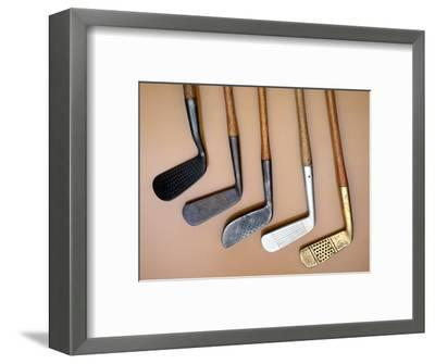 Early iron golf clubs-Unknown-Framed Giclee Print