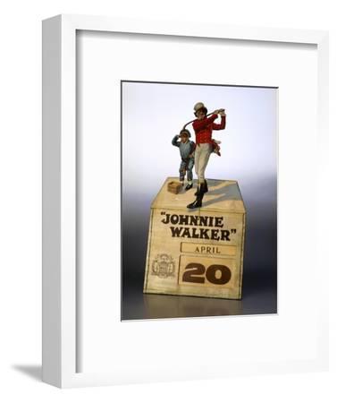 Johnnie Walker calendar-Unknown-Framed Giclee Print
