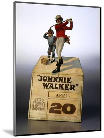 Johnnie Walker calendar-Unknown-Mounted Giclee Print