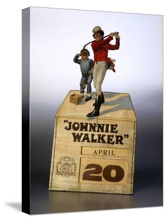Johnnie Walker calendar-Unknown-Stretched Canvas Print