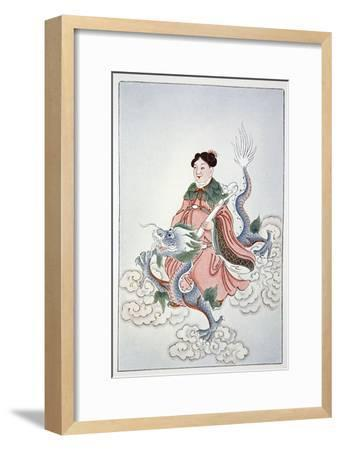 Spirit of the Well, 1922-Unknown-Framed Giclee Print