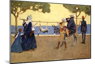 Big Game Hunters', 1908-Lance Thackeray-Mounted Giclee Print