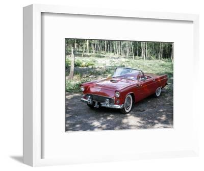 A 1955 Ford Thunderbird-Unknown-Framed Photographic Print
