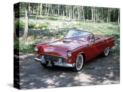 A 1955 Ford Thunderbird-Unknown-Stretched Canvas Print