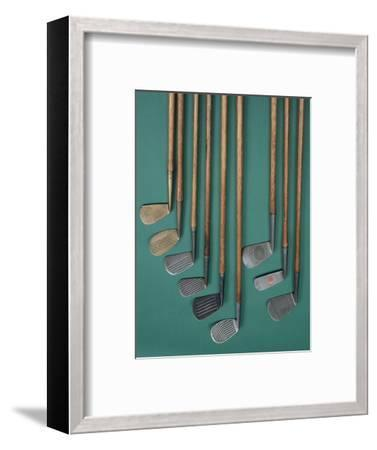 Golf club faces, c1920s-Unknown-Framed Giclee Print