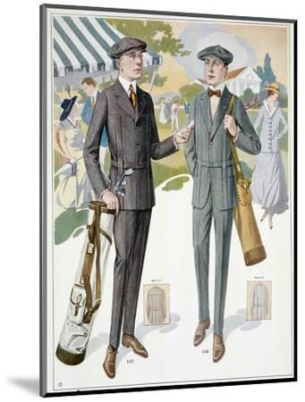 Golfing fashions, c1910s-Unknown-Mounted Giclee Print