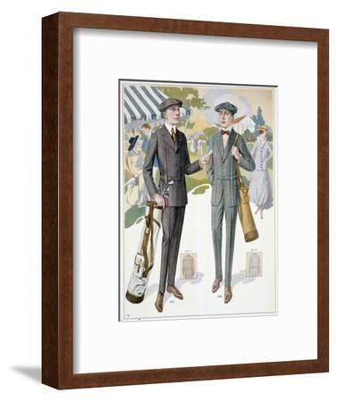 Golfing fashions, c1910s-Unknown-Framed Giclee Print