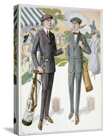 Golfing fashions, c1910s-Unknown-Stretched Canvas Print