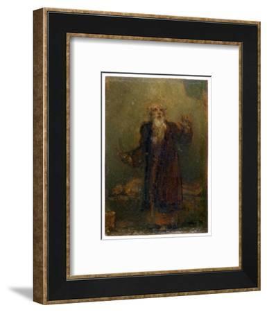 King Lear (?), c1772-1845-Robert Smirke-Framed Giclee Print