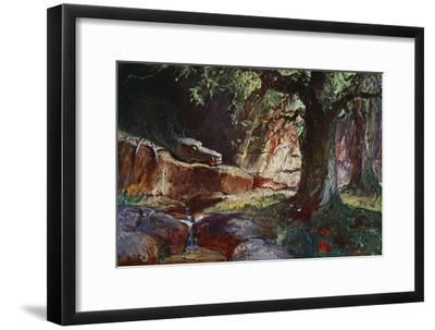 'Fafner in his Cave', 1906-Unknown-Framed Giclee Print