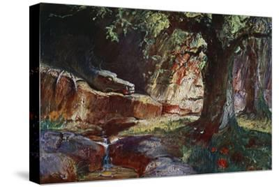 'Fafner in his Cave', 1906-Unknown-Stretched Canvas Print