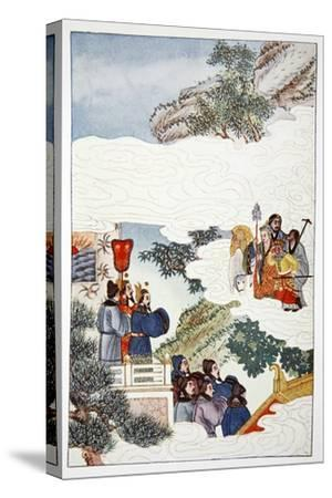 'The Return to China', 1922-Unknown-Stretched Canvas Print