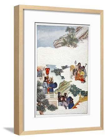 'The Return to China', 1922-Unknown-Framed Giclee Print