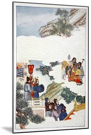 'The Return to China', 1922-Unknown-Mounted Giclee Print