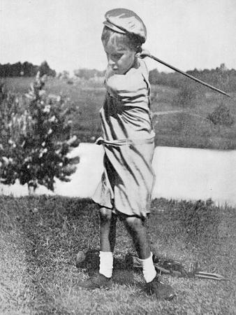 Bobby Jones as a boy, c1910-Unknown-Framed Giclee Print