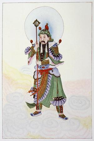 The Door God - Civil, 1922-Unknown-Framed Giclee Print