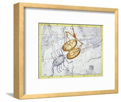 Constellation of Libra, 1729-Unknown-Framed Giclee Print