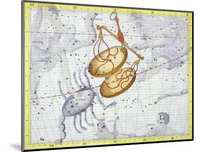 Constellation of Libra, 1729-Unknown-Mounted Giclee Print
