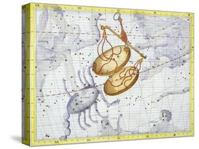 Constellation of Libra, 1729-Unknown-Stretched Canvas Print
