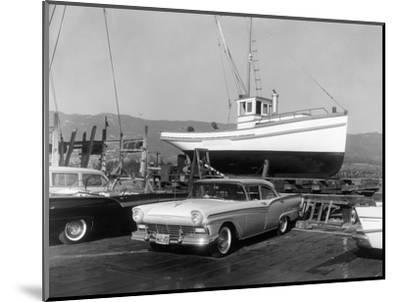 1957 Ford Fairlane, (c1957?)-Unknown-Mounted Photographic Print