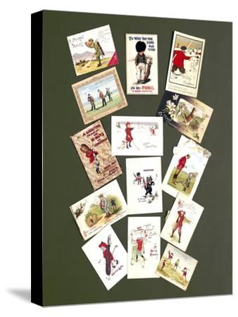 Greetings cards, c1905-c1920-Unknown-Stretched Canvas Print